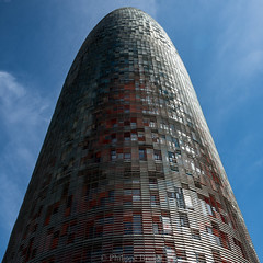 Agbar Tower (Philippe74160) Tags: barcelona architecture spain agbar jeannouvel