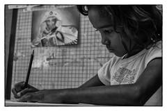Expresso de um olhar. (Marcus Menezes) Tags: brazil art rio brasil arte favela alemo teleferico comunidade complexo sarau monocromatico cpx complexodoalemo rio2016 rio450