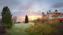 Sunset_Caux_Palace_24.04 (Andy'z Art) Tags: school lake snow castle colors garden landscape switzerland nikon colorful suisse geneva swiss lac palace neige nikkor leman f28 canton coucherdesoleil vaud caux 1424 shms nikond800 andyzart