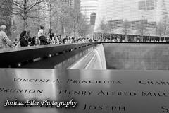 World Trade Center Memorial (Joshua Eller) Tags: newyorkcity financialdistrict rememberance manhatten 911memorial worldtradecentermemorial
