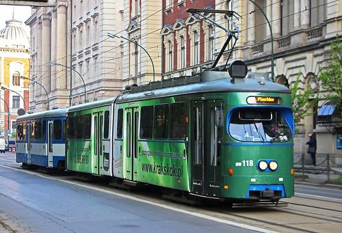 SGP E1 Tram - MPK Krakow