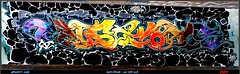 Artist: ST ? (pharoahsax) Tags: world street urban bw streetart get art colors wall writing germany painting deutschland graffiti artwork mural paint artist expression kunst tag tags spray peinture urbanart painter writer graff baden karlsruhe ka legal spraycan wrttemberg sden pmbvw worldgetcolors