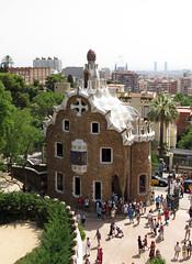 Barcelona (Ana >>> f o t o g r a f  a s) Tags: barcelona espaa spain espanha catalonia gaud catalunya modernismo catalua spanien spagna spanje spania antoniogaud parquegell parkgell antonigaud spagne modernismocataln spanya modernismecatal canong12 potd:country=es