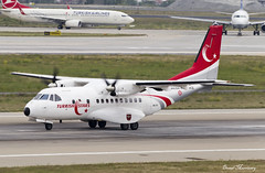 Turkish Air Force (Turkish Stars) CN-235M Casa 96-117 (birrlad) Tags: turkey airplane stars casa airport team support force ataturk taxi aircraft aviation military air airplanes istanbul international airforce departure ist takeoff runway turkish prop departing taxiway turboprops 96117 cn235m