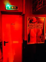 Weekend Trip, The #slutz are in the #dollhouse (fabriziomusacchio) Tags: door red bar pub cities cologne olympus kiosk m43 zd zuikodigital minidisko weekendstories penep5 pixeltracker fabriziomusacchio