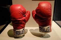Ali's Gloves (_Codename_) Tags: red museum dc washington gloves boxing muhammadali nationalmuseumofamericanhistory