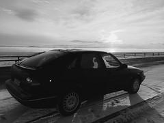 Saab 900 2.3 1997. Päijänne National Park, Finland. (TheBossEntertainment) Tags: winter sun sunlight cars car sunrise suomi finland nationalpark roadtrip arctic saab saab900 päijänne