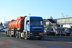 ERF ECT 'Jacksons' reg H10 JXN (erfmike51) Tags: lorry artic tanker jacksons erfect
