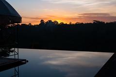 A sunset of Ubud (Yusuke_SG) Tags: travel sunset sky bali cloud mountain lake nature forest landscape nikon asia ubud d90