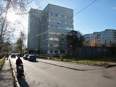 IMG_3025 (Бесплатный фотобанк) Tags: новоясеневский медицина осень поликлиника проспект солнце россия москва