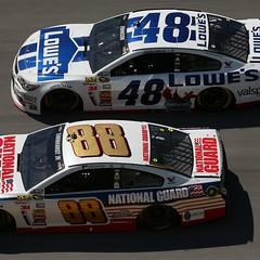 Dale Earnhardt Jr - Jimmie Johnson (Claudio_CF48) Tags: chevrolet dale johnson jr racing chevy nascar motorsports earnhardt jimmie talladega hendrick