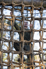 Marine recruits show courage on Parris Island Confidence Course (MCRD Parris Island, SC) Tags: sc usmc unitedstates graduation pi di marines bootcamp grad pisc marinecorps drill err recruit basictraining parris recruiter parrisisland mcrd recruittraining drillinstructor recruitdepot mcrdpi easternrecruitregion