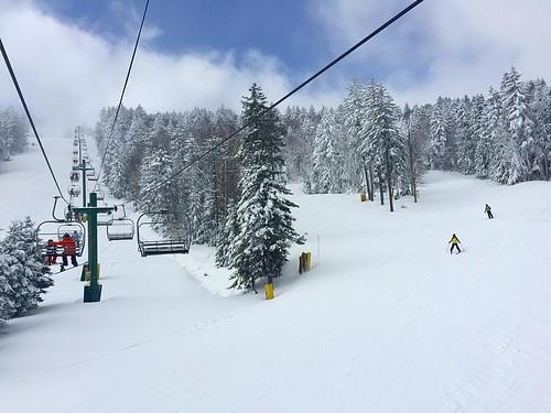 Winter wonderland #snowshoemountain #snowshoe #westvirginia #wv