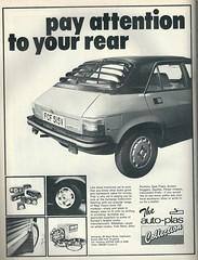 Auto-Plas advert 1980s (VAGDave) Tags: austin 1980 hl allegro