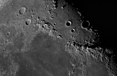 Lunar Apennines Mountain Range (Ted Dobosz) Tags: moon mountains maria ace craters lunar stacked seas basler c11 apennines aca1920155um