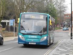 Arriva 2149 - DK15 EHD (North West Transport Photos) Tags: bus e200 32 enviro arriva adl wrexham llay 2149 alexanderdennis enviro200 arrivabuseswales dk15ehd