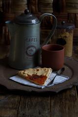 Crostata di albicocche (Ann@74) Tags: apricot jam tart glutenfree albicocche frolla