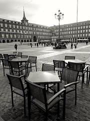 Madrid (Eliazar Torre) Tags: madrid espaa blancoynegro spain ciudad plazamayor plazamayordemadrid