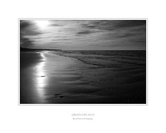 Omaha Beach (Rense Haveman) Tags: bw normandi monochromelandscape pentaxk5 rensehaveman vakantieierland2014