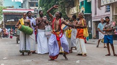 Mendicant Dance (Padmanabhan Rangarajan) Tags: india festival temple chennai chariot carfestival parthasarathytemple nikond750