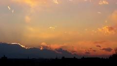 #6716 sunset and clouds (Nemo's great uncle) Tags: sunset  setagaya  setagayaku tky  seij  fujimibashi