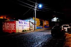 In Real del Monte (annablair) Tags: street mexico graffiti streetlight fuji realdelmonte xt10