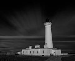 200 Seconds at Covesea Lighthouse (Andrew Paul Watson) Tags: longexposure blackandwhite lighthouse black monochrome clouds scotland streak scottish filter moray firth andwhite lossiemouth firecrest covesea andrewpaulwatson