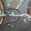 (lafraisecycles) Tags: bicycle cycling handbuilt bespoke steel roubaix radonneur 650b lafraise bikechain wheel
