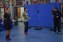 Lee and Andrew Selby training at Bristol Boxing Gym (sophie_merlo) Tags: sport action boxing andrewselby leeselby bristolboxinggym chrissanigar
