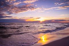Sunset in Destin (Jim Nix / Nomadic Pursuits) Tags: travel family sunset vacation holiday beach florida sony roadtrip coastline destin goldenhour lightroom emeraldcoast colorefexpro 28mmf2 nomadicpursuits jimnix sonya7ii