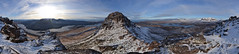 Stac Pollaidh Pano (R_W_M) Tags: winter panorama snow mountains landscape scotland highlands stitch adventure hillwalking westerross stacpollaidh rossandcromarty hugin summerisles highlandsandislands northwesthighlands nikond3100