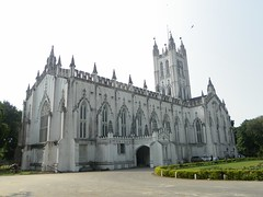 Kolkata 19, St. Paul cathedral (juggadery) Tags: urban india building architecture bengal westbengal 2015