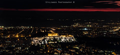 Athens  Night (stylianosl) Tags: nightphotography nature night cityscape cityscapes athens greece acropolis naturecolors stylianos finephotography piteus cityscapephotography citycene stylianosphotography