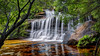 Waterfall / Wentworth Falls (Young Ko) Tags: longexposure nature yellow landscape interesting nikon rocks colorful flickr bluemountains waterfalls harmony nsw garie wentworthfalls nationalpass