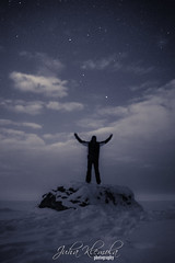 -Tulevaisuus on tss- (IceDevil90) Tags: winter sea sky snow ice night clouds canon suomi finland stars photography kokkola 700d canongraphy