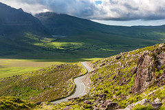 Kerry Mountain Pass Ireland (PIERRE LECLERC PHOTO) Tags: road travel ireland irish mountains green landscape kerry hills explore pierreleclercphotography