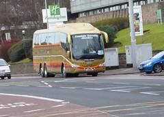FXI 688 (Cammies Transport Photography) Tags: road england bus fountain scotland coach edinburgh rugby v executive 688 scania specials corstorphine irizar fxi fxi688