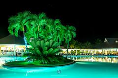 glow (DominiquePelletier.ca) Tags: vacation green pool night san glow resort bahia dominicaine aquablue riosanjuan republicpuerto principedominican platario juanespaillatrpublique