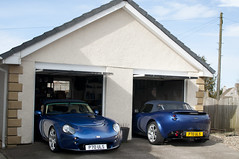 TVR Garage (Mike Branney) Tags: multiplicity tvr tamora