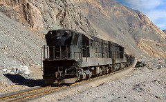 Why are you interested in my train? (david_gubler) Tags: chile train railway llanta potrerillos ferronor