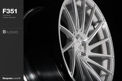 f351-brushed (AG Wheels) Tags: wheel design paint duo coat wheels profile powder ag finish designs block dual custom rim rims function avant garde forged concave finishing brushed avantgarde bespoke directional forging rotational powdercoat concavity f351 agwheels agfunction
