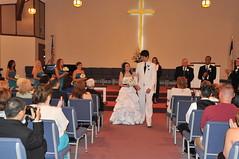 Britt & Chris's Wedding: The Ceremony (Brittany Neigh) Tags: chris carolyn joey ceremony val deborah bubba roger britt niles teela regesterchapel lipinskineighwedding brittandchrisgetmarried pastorteresa