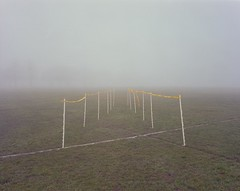 Racecourse 10 (Andy Feltham...) Tags: park 120 film fog analog mediumformat northampton kodak northamptonshire racecourse portra400 mamiya7 65mmf4