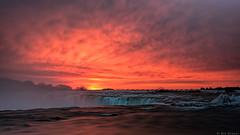 Sunrise over Niagara Falls (MsFoo) Tags: longexposure sunrise niagarafalls