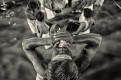 Chank Sound Starts (Sathish_Photography) Tags: kumbakonam monichrome mahamagam blackandwhitebwphotography sathishphotography chanksound mahamagamholypond