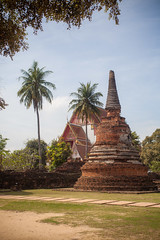 Thailand - Wat Phra Si Sanphet (Cyrielle Beaubois) Tags: statue stone thailand ancient ruins asia novembre thalande bouddha asie southeast ayutthaya 2015 watphrasisanphet canoneos5dmarkii cyriellebeaubois