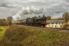 WSR_2016_03_11_134 (Phil_the_photter) Tags: watersmeet minehead leighwoods wsr 7f westsomersetrailway 8f 53808 53809 34098 standardtank templecombe 48624 80043 80072 roebuckcrossing