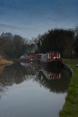 Along the canal (volt photo) Tags: countryside boat canal 7d 1740mml