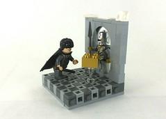 Harry Potter - Aurum Maximum! (TheRoyalBrick) Tags: lego harrypotter vignette moc foitsop