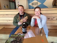 3.19.16 Saturday Imbibing in the Sun! (BREWVANApdx) Tags: hub brewing river sidebar columbia hopworks lompocsidebar goodbeergoodweather baerlic saturdayimbibing